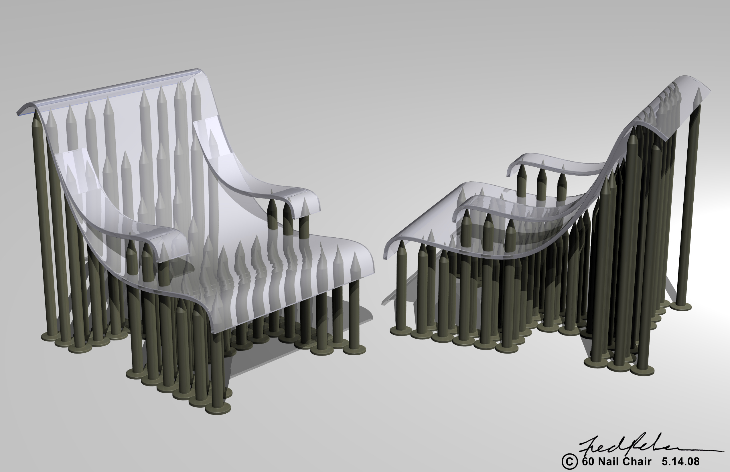 where to nail chair rail zero gravity leather