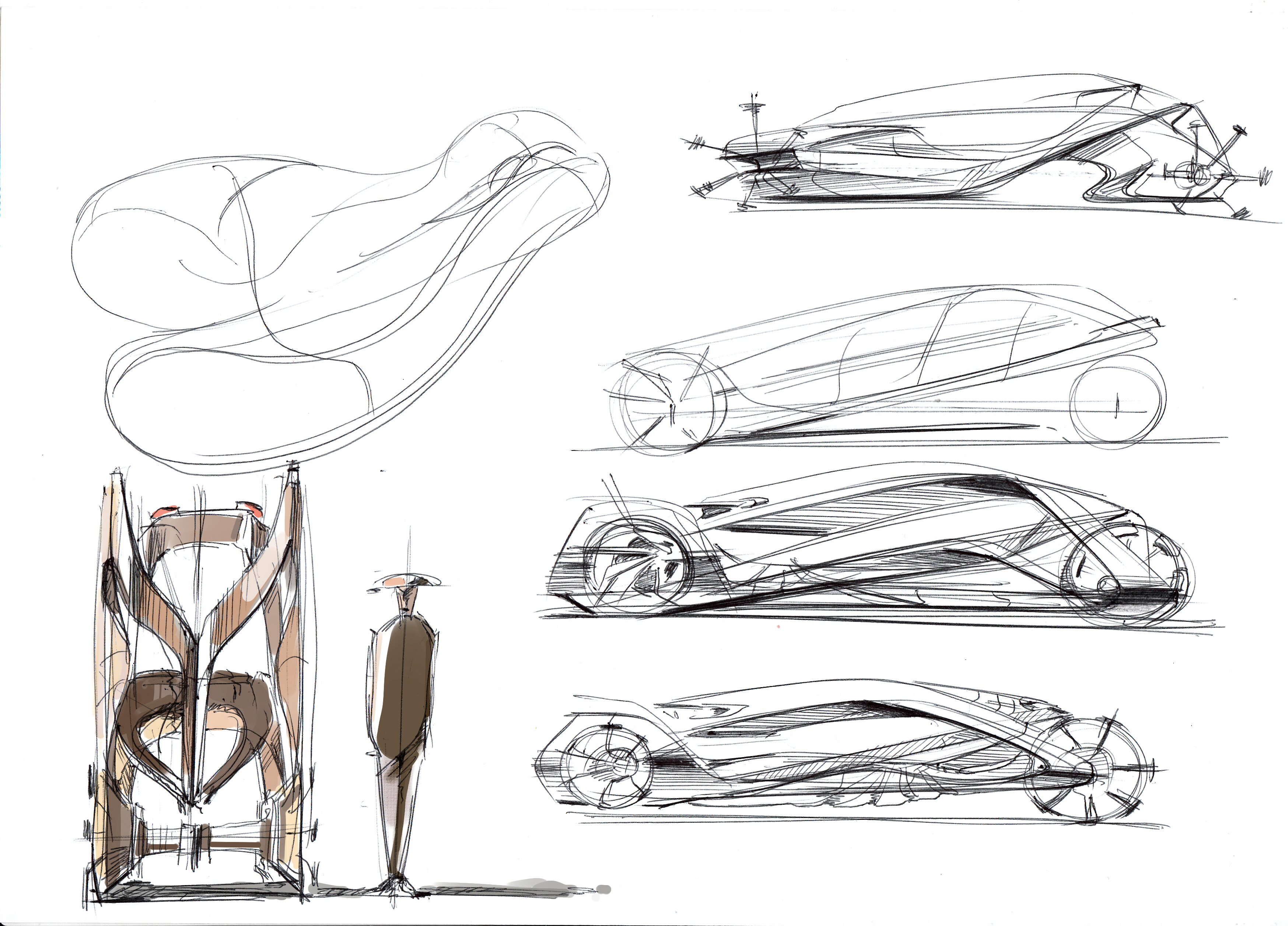 Easy-Drive Concept for Future Urban Life by Kong Shiyuan