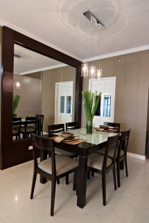 Modern Condo Interior Design Dining Room