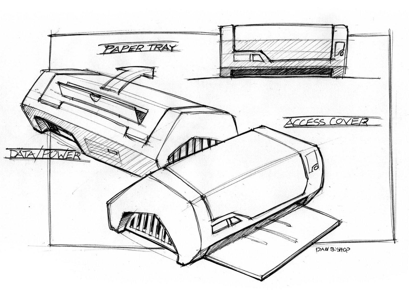 Sketches by Dan Bishop at Coroflot.com