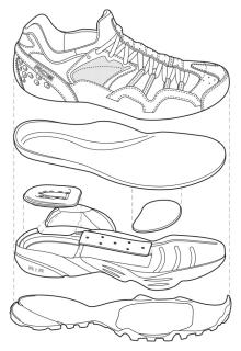Technical Illustration by Jeff Wheeler at Coroflot.com