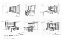 Renderings and Sketches by Sia Mahdieh at Coroflot.com