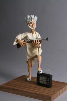 Stopmotion Puppet by Steve Hayward at Coroflotcom
