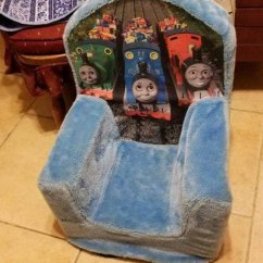 Thomas Train Chair Revolving Blue The Toys Games For Sale On Barstow Bookoo
