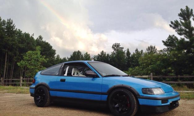 Wooley's CRX : Rainbro
