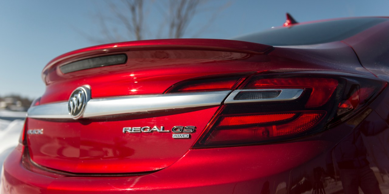 2015 Buick Regal GS review