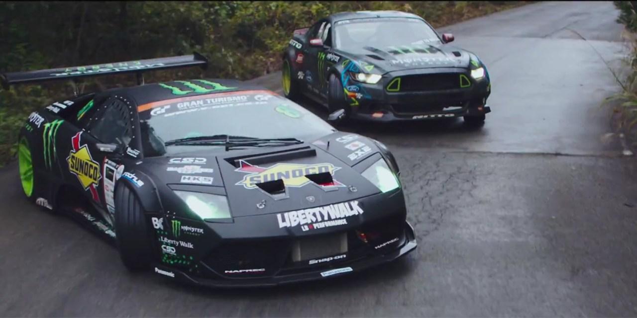 Battledrift: Mustang vs Lamborghini