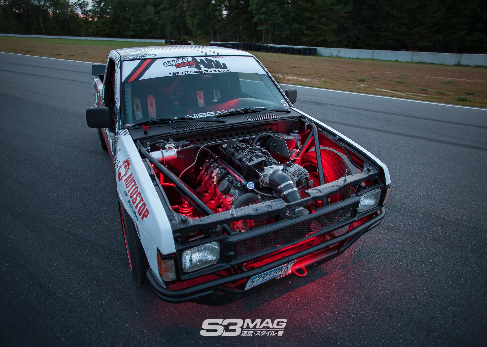 No Money No Problems: Alec's Nissan Hardbody Drift Truck - S3 Magazine