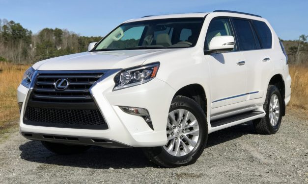 2017 Lexus GX460 Review