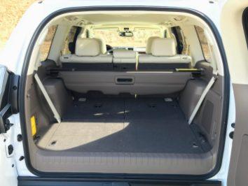 GX460 rear hatch space