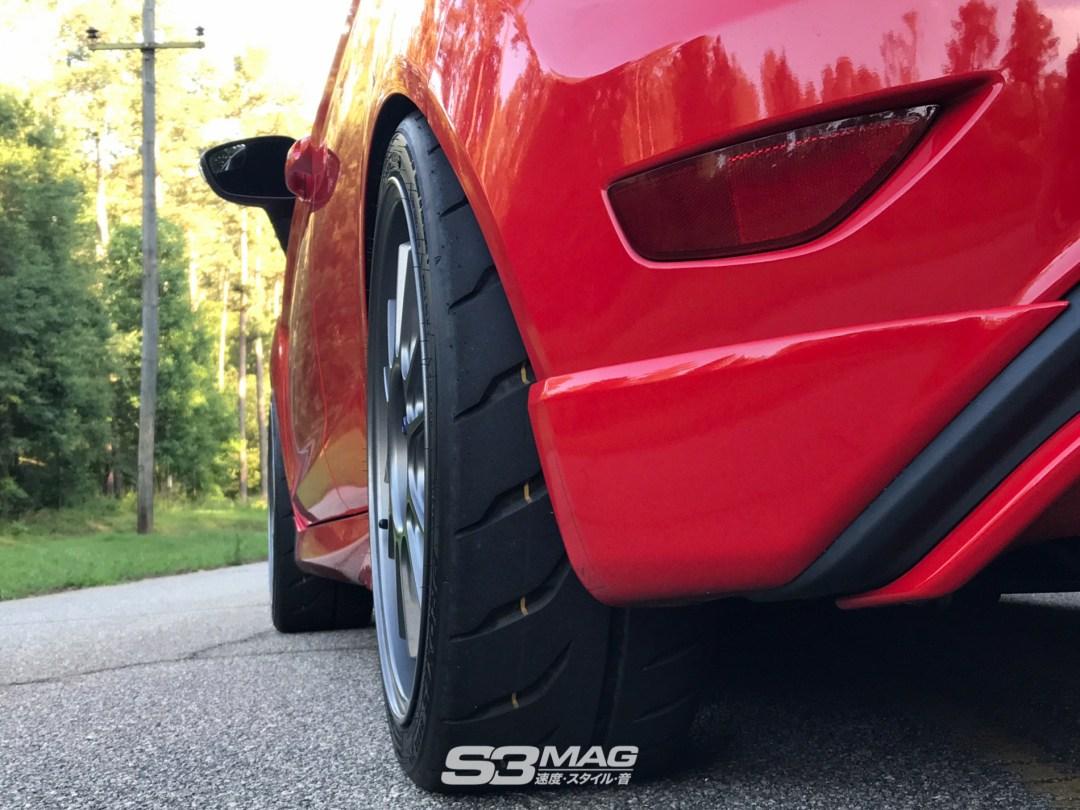 Ford Fiesta ST Konig Hypergram Wheels 12