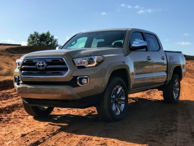 2017 Toyota Tacoma Limited Review
