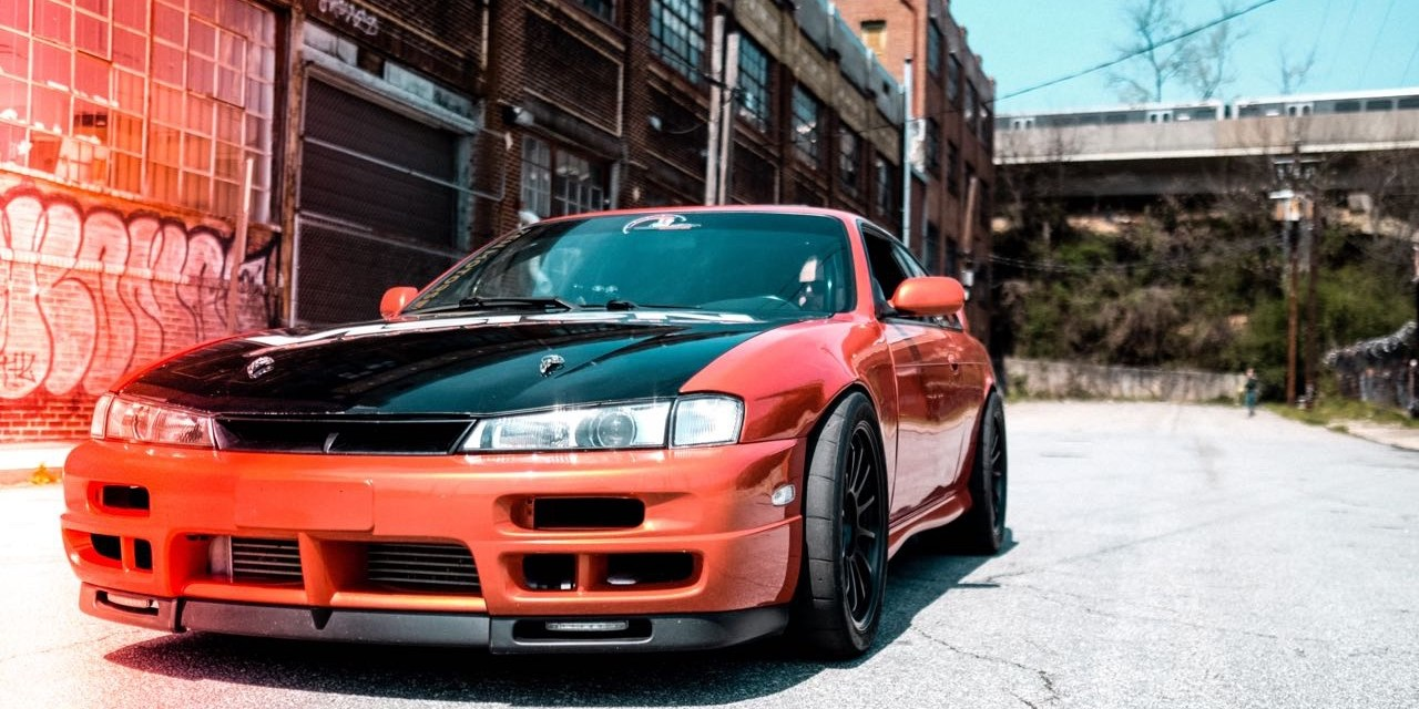 LS turbo Nissan S14 240sx: Eat the Worm