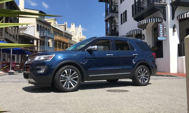 Ford Explorer SUV review