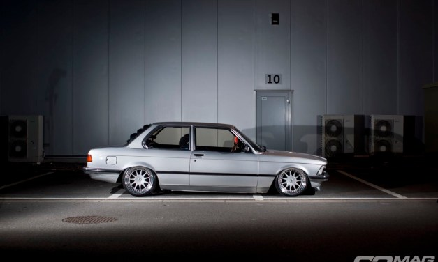 bagged E21 BMW