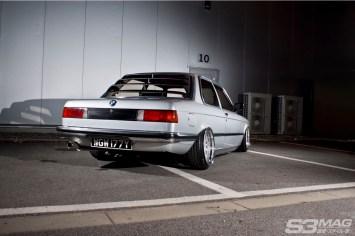 restored E21 BMW