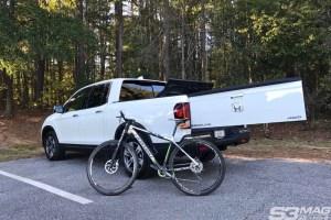 Honda Ridgeline tailgate