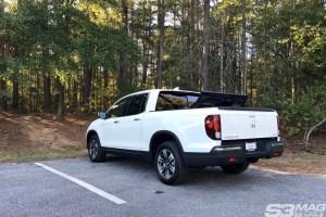 Honda Ridgeline trunk cargo