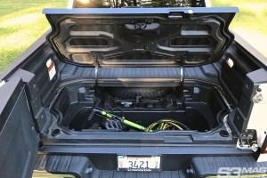 Honda Ridgeline cargo trunk bed