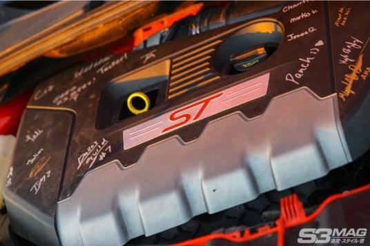 Focus ST valve cover