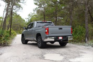 Tundra TRD 4x4 cement