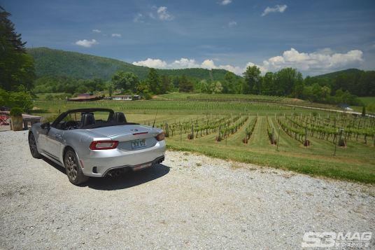 Fiat 124 Abarth silver
