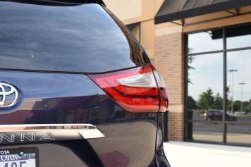 2018 Toyota Sienna rear