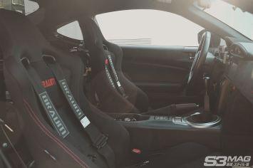 BRZ racing seats
