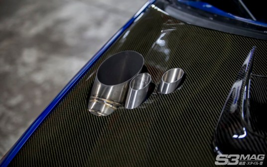 WRX hood exhaust