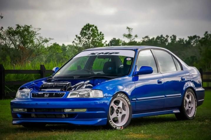 Honda Civic EK Sedan lowered
