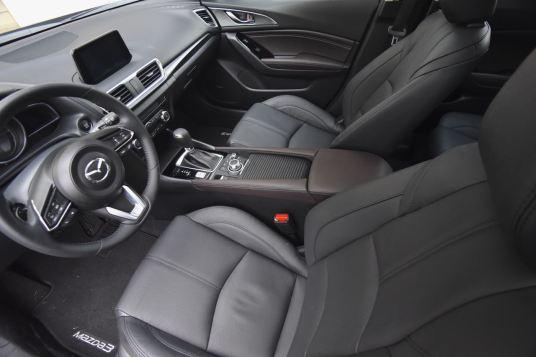 mazda3 grand touring interior