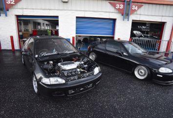 swapped Honda hatch