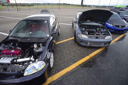swapped Hondas