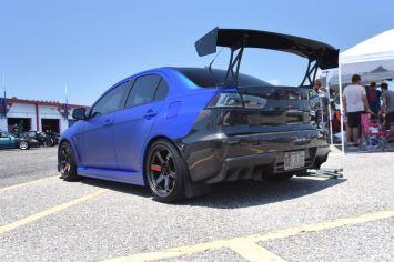 Evo X carbon bumper
