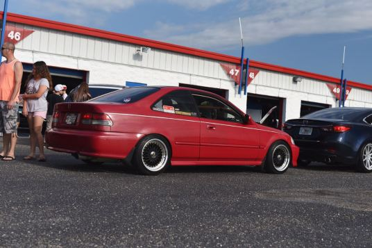 Civic on BBS wheels