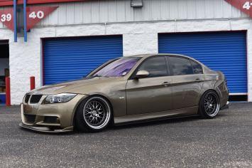 lowered BMW