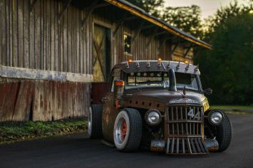 rat rod cow catcher