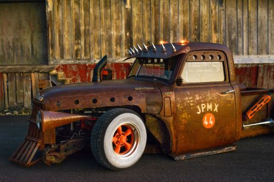 49 Chevy rat truck