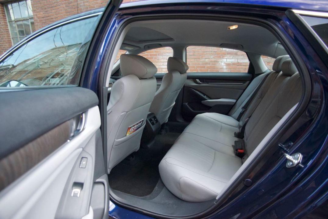 Honda Accord rear seat room