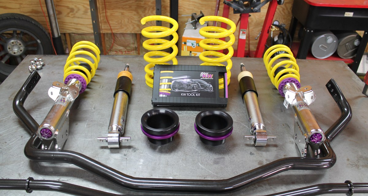 2017 Ford Mustang: KW Coilover and ST Anti-Sway Bar Install.
