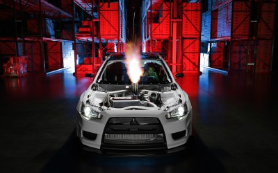 :bombtrack: The CSF Mitsubishi EVO X