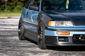 1990 Honda CRX HF on Konig Dekagrams