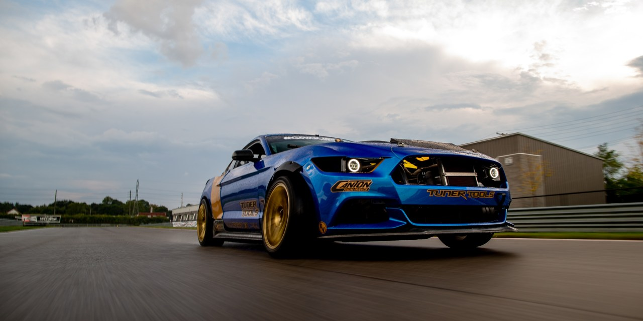 Shane Whalley's LS Swapped Mustang