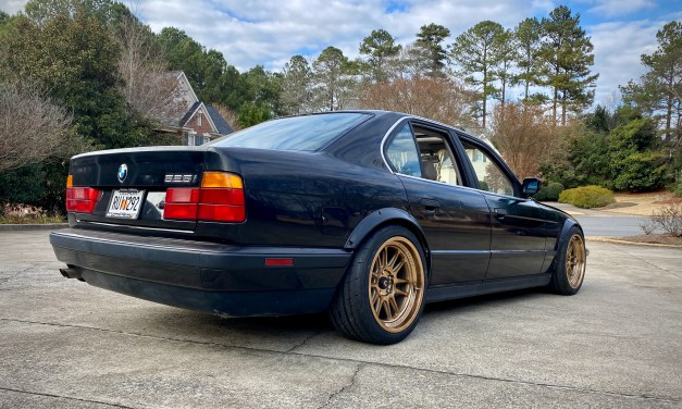 Wooley's $500 BMW Project
