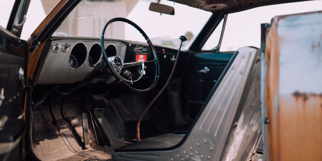 corvair interior