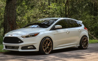 Building a 400 HP BIG TURBO Focus ST in 6 Minutes!