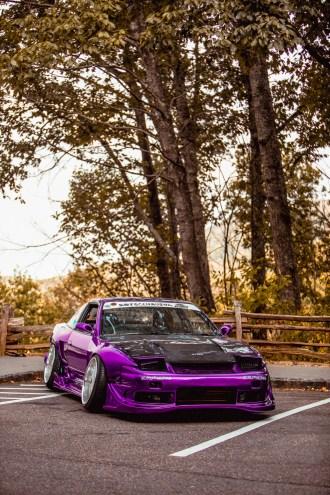 purple S13 240sx