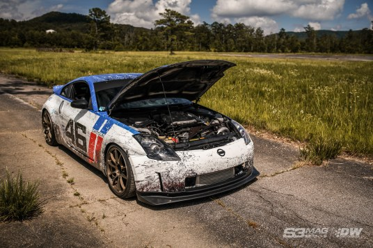 supercharged 350z