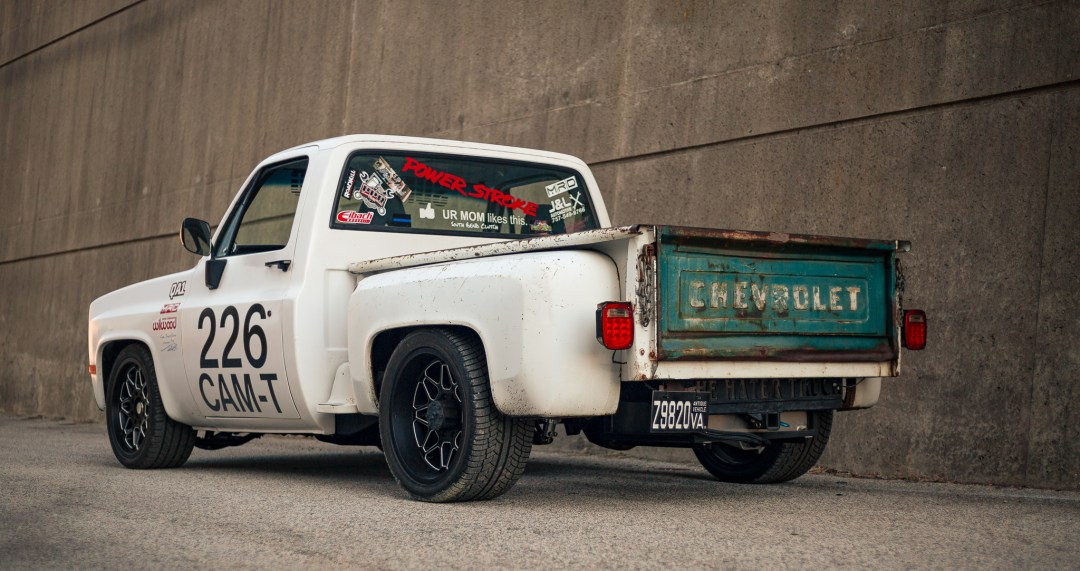 autocross C10 truck