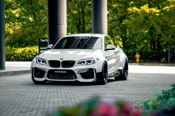 BMW M2 flares